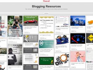 blogging resources Pinterest Board