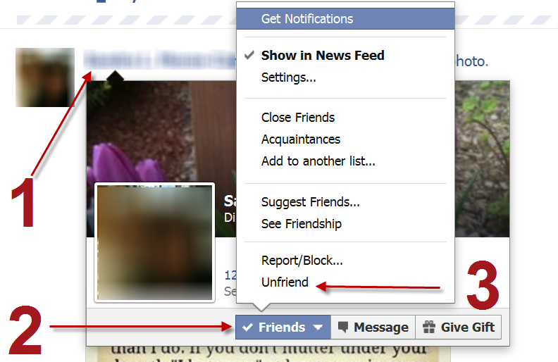 How to Un-'friend' Someone on Facebook – Tutorial