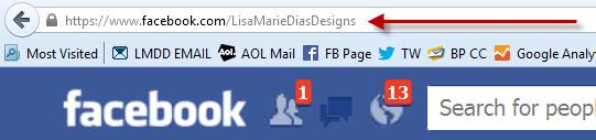 Vanity URL on Facebook