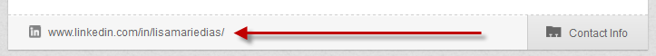 LinkedIn vanity URL