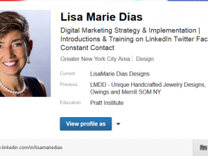 Vanity URL on LinkedIn