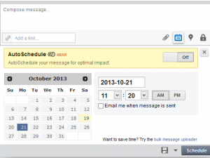 Automated Scheduling with HootSuite