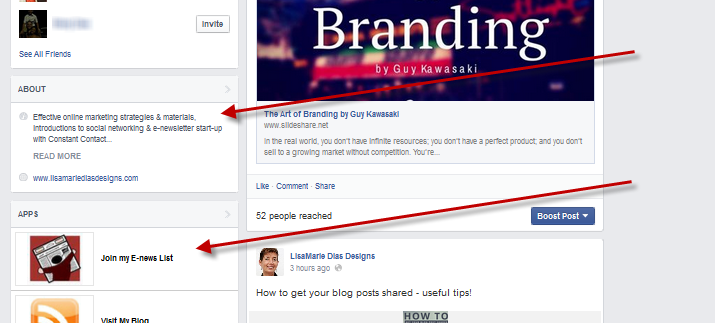The new Facebook layout now includes a sidebar with multiple sections. Since these are always visible, here are some tips on how to make the most of the new Facebook Sidebar real estate.