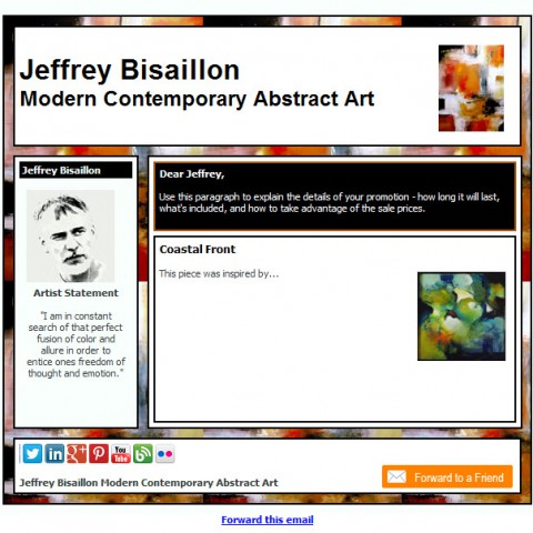 Jeffrey Bisaillon Contemporary Art