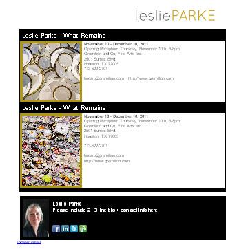 Leslie Parke - Fine Art