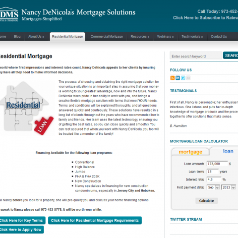 Nancy DeNicola's Mortgage Solutions