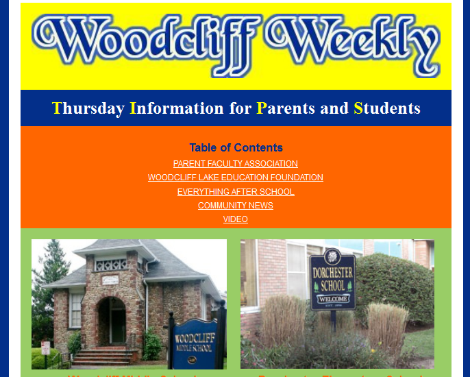 Woodcliff Weekly