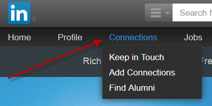 how to unlink on LinkedIn