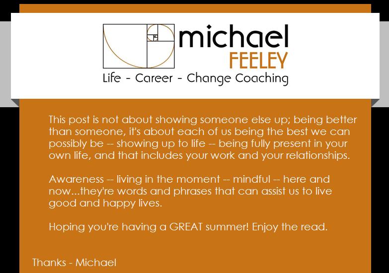 Michael Feeley Life Coach