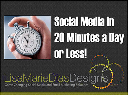 Social Media in 20 Minutes a Day or Less