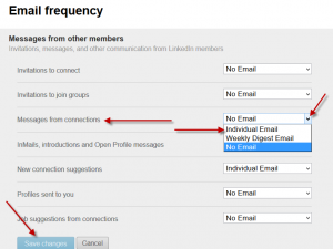 Email Notifications for LinkedIn Messages