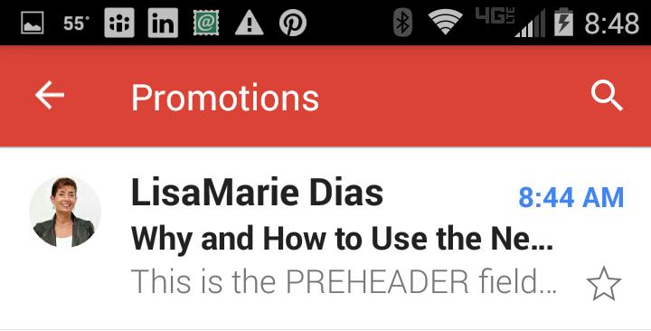 preheader mobile gmail