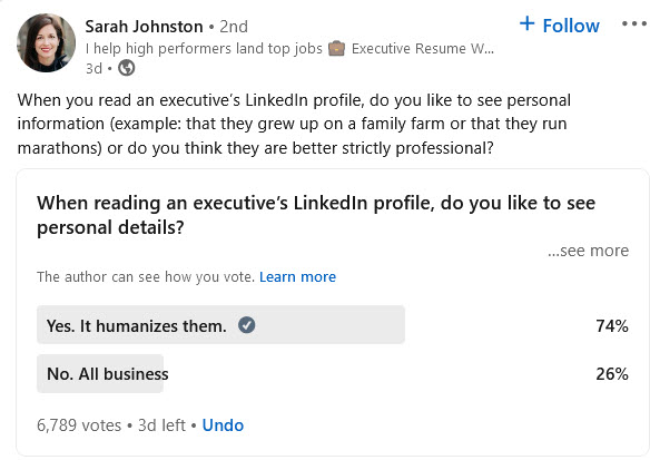 Should I Add Personal Information to My LinkedIn Profile?